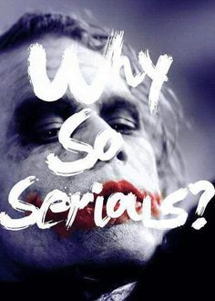 Perhaps the most famous line from the most infamous Joker from the most famed Batman film. Heath Ledger Joker, Joker Batman, Joker Art, Batman Arkham, Batman Art, Batman Joker Quotes, Superman, Joker Pics, Batman Robin