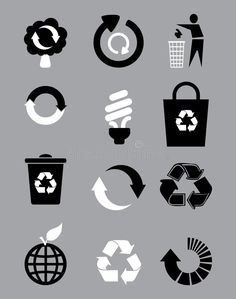 Photo about Black and white recycle signs in gray background. Illustration of environment, grunge, internet - 17216998 Logo Design, Graphic Design Typography, Paper Bag Design, Bag Illustration, Grafik Design, Grunge, Poster Making, Gray Background, Textiles