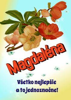 22.7 meninové priania Magdaléna