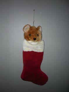 Annons på Tradera: Julstrumpa nalle