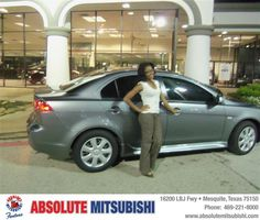 """https://flic.kr/p/sSwMxp   #HappyAnniversary to Shamia Pulley on your 2013 #Mitsubishi #Lancer from James Andre at Absolute Mitsubishi!   <a href=""""http://www.absolutemitsubishi.com/?utm_source=Flickr&utm_medium=DMaxxPhoto&utm_campaign=DeliveryMaxx"""" rel=""""nofollow"""">www.absolutemitsubishi.com/?utm_source=Flickr&utm_med...</a>"""
