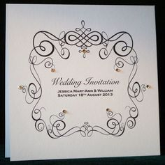 Peachy Amour Wedding Invitations - 9 £2.60
