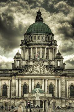City Hall, Belfast by Stuart Crawford on Belfast Ireland, Belfast City, British Architecture, Ancient Architecture, Ireland Country, Irish Eyes, Emerald Isle, City Photography, British Isles