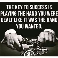 there is no sympathy in poker always keep cool if you