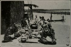 """from """"Seven weeks in Hawaii, by an American girl"""" (1917)---""""Last night I attended a real luau.The hostess was Princess Theresa, a niece of ex-Queen Liliuokalani. She was celebrating the twenty-first birthday of her son, Robert K. L. K. Wilcox. The father of this boy, Robert Wilcox, was the first delegate to Congress from the Territory of Hawaii. There were perhaps a hundred different kinds of food. It was mostly cooked under ground, The Hawaiians ate entirely with their fingers."""