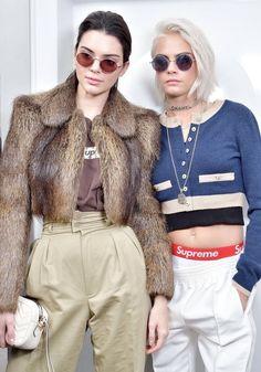 Kendall & Cara Delevingne