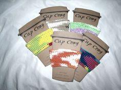 Crochet Uncut: Dar's Cup Cozy - free crochet pattern. Crochet Cup Cozy, Free Crochet, Knit Crochet, S Cup, Cleaning Items, Crochet Kitchen, Teacher Gifts, Crochet Patterns, Cozies