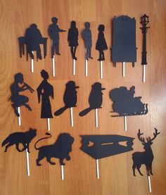 Hey, I found this really awesome Etsy listing at https://www.etsy.com/listing/249030079/narnia-shadow-puppets-the-lion-the-witch