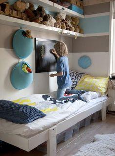 Uma casa de família. Veja mais: http://www.casadevalentina.com.br/blog/materia/casa-de-fam-lia-1.html #decor #decoracao #home #casa #interior #design #details #detalhes #charm #cozy #aconchego #bedroom #quarto #infantil #kids #casadevalentina