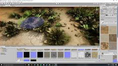 This is a video that demo's how to setup a deserts environment with Unity 3D terrain. We used high resolution textures to give our scene a nice PS5 XBox AAA look, similar to Call Of Duty. We demo creating the terrain, importing textures to your terrain and painting detail to make your ground look more realistic. This tutorial is geared towards game designers and indie game developers looking to improve their art on games. Desert Environment, Unity 3d, Video Games Funny, Game Room Design, Desert Plants, Digital Art Tutorial, Desert Boots, Indie Games, Xbox