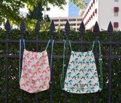 Trendy cotton sling bag from my Etsy shop https://www.etsy.com/listing/248375443/ringside-backpack-sling-bag-or