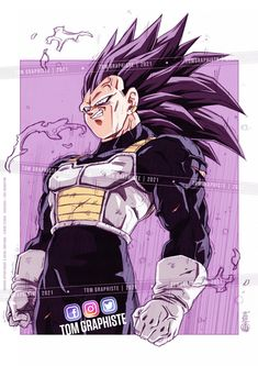 Anime Wolf Drawing, Anime Art, Joker Cartoon, Dbz Drawings, Dragon Ball Image, Anime Tattoos, Cultura Pop, Character Design, Epic Characters