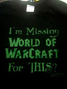Missing World of Warcraft
