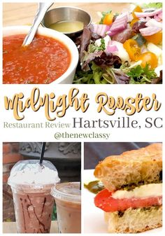 Looking for a great place for lunch in Hartsville, SC? We recommend soup, sandwiches and coffee at The Midnight Rooster. Yum. #sponsored #experiencehartsville #restaurant #restaurantreview #food #foodie #MidnightRooster #hartsville #SouthCarolina