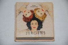 Jergens Face Powder compact or box with Varga Pin by vintagetwice, $45.00