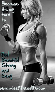 Its my turn to feel Beautiful Strong and Sexy