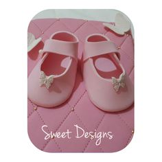 Baby Shoes made from fondant