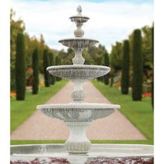 "186"" Four Tier Savona Fountain"