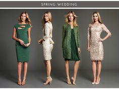 Weddings Spring & Fall Transitional Looks! Spring2015