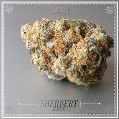 Sherbert Cookies. California Medical Cannabis.