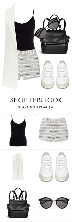 """""""Untitled #209"""" by dreamer3108 on Polyvore featuring New Look, Rebecca Minkoff, Forever New, Off-White, Givenchy, Yves Saint Laurent, StreetStyle and 2016"""