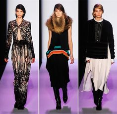 BCBG Max Azria Fall/Winter 2014-2015 Collection - New York Fashion Week  #NYFW #MBFW #fashion #NewYorkFashionWeek
