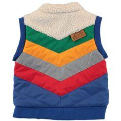 ESK 3 Way Reversible Jacket Loch Blue by Tootsa MacGinty - Junior Edition www.junioredition.com