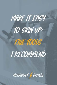 A breakdown of 5 of the most popular tools for email marketing to explain the differences, pros & cons of each, and which tools might be the best fit for you. Email marketing for bloggers / email marketing tips via @megcasebolt
