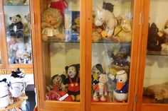 The Merrythought museum in Ironbridge, Shropshire displaying bears made by the company since 1930