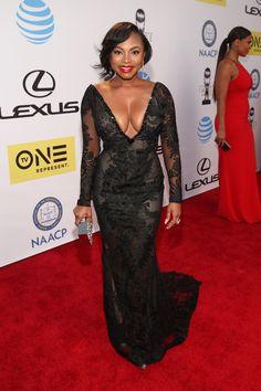 Fabulously Spotted: Naturi Naughton Wearing Galia Lahav - 2016 NAACP Image Awards - http://www.becauseiamfabulous.com/2016/02/07/fabulously-spotted-naturi-naughton-wearing-galia-lahav-2016-naacp-image-awards/
