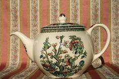 Johnson Bros Indian Tree Teapot