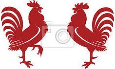 Resultado de imagen para siluetas de gallos