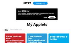 IFTTT lanza versión Pro con 3 applets máximos para los gratuitos