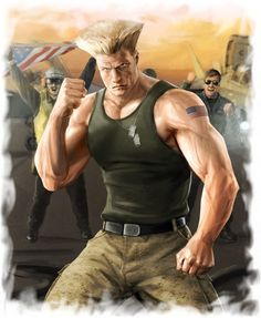 Guile by Egakuro on DeviantArt Guile Street Fighter, Street Fighter Game, Super Street Fighter, Cosplay Games, Street Fighter Wallpaper, Mileena, Warrior Spirit, Video Game Characters, Fictional Characters