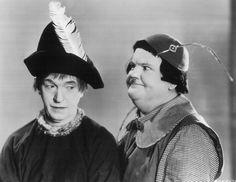 Stannie Dum (Stan Laurel) and Ollie Dee (Oliver Hardy) from Babes in Toyland ~ 1934 Laurel And Hardy, Stan Laurel Oliver Hardy, Great Comedies, Classic Comedies, Best Comedy Videos, Classic Holiday Movies, Classic Movies, Comedy Duos, Best Duos