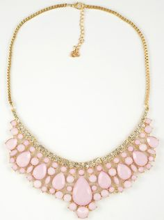 cute pink necklace http://www.totemshop.in.ua/collection/kolie/product/kolie-nezhnaya-roza