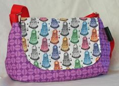 Sophie Bag - Dr Who and the Daleks | LCG Creations