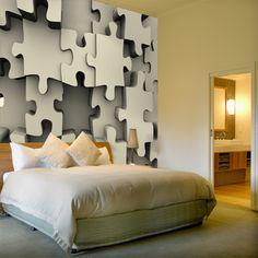 Papier peint vinyle Puzzle