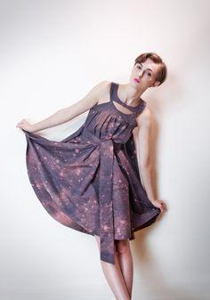 Harmony and the Night Sky Dress by emilyryan on Etsy, $224.00
