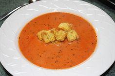Weight Watchers friendly tomato soup recipe