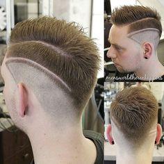 Haircut by mensworldherenkappers http://ift.tt/1W15kOZ #menshair #menshairstyles…