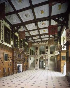 Historic Stuff: Audley End House & Gardens, Saffron Walden, Essex. The Great Hall.