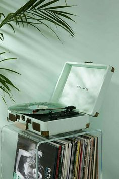 Shop Crosley Cruiser Mint Vinyl Record Player at Urban Outfitters today. We carry all the latest styles, colours and brands for you to choose from right here. Mint Green Aesthetic, Aesthetic Colors, Aesthetic Collage, Aesthetic Vintage, Aesthetic Pictures, Aesthetic Drawings, Aesthetic Girl, Aesthetic Clothes, Music Aesthetic