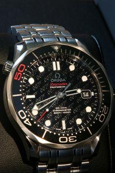 Omega Seamaster Pro Bond 50th Anniversary Limited Edition #Omega #007