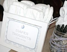 Night Owl Baby Shower by Vanessa of Vanessa Grant Events via www.babyshowerideas4u.com #babyshowerideas4u