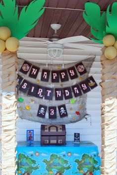 Jake and the Neverland Pirates Birthday Party - Project Nursery