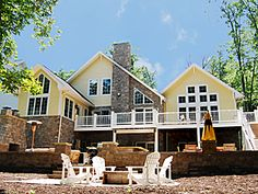 1000 Images About Lakefront Homes At Deep Creek Lake On