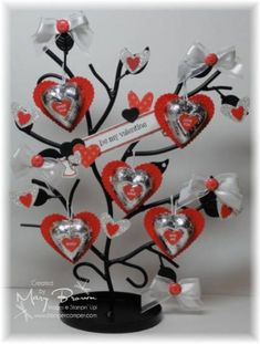 candy tree for Valentines