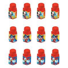 Mickey Mouse Mini Bubbles 12ct