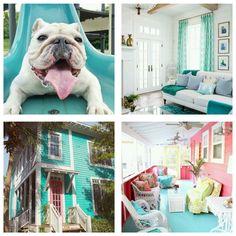 Bedroom Colour Palette, Bedroom Colors, Casa Decor 2017, Spanish Interior, Green Sofa, Bohemian Lifestyle, Colour Palettes, Paper Decorations, Color Inspiration